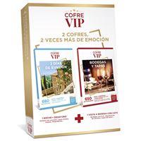 Caja regalo CofreVIP Bundle dos días de Evasión/Bodegas y Tapas