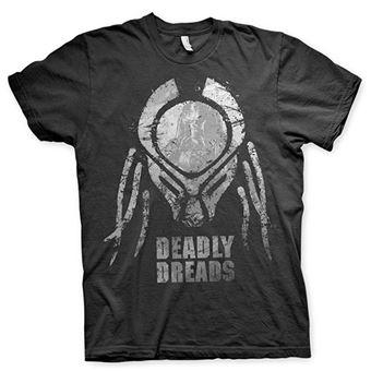 Camiseta The Predator - Deadly dreads Negro Talla M