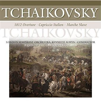 Tchaikovsky - 1812 Overture / Carpriccio Italien / Marche Slave - Vinilo