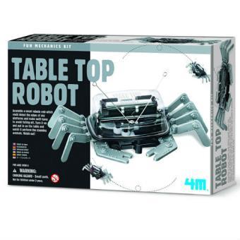 Crea y juega. Table Top Robot - Robot Cangrejo