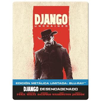 Django Desencadenado - Steelbook Blu-Ray - Ed Limitada