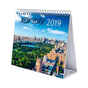 Calendario sobremesa 2019 Deluxe New York