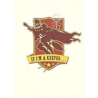 Tarjeta Harry Potter - Quidditch