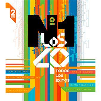 Los Nº 1 de Los 40  2018 - 2 CD