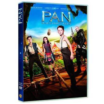 Pan. Viaje a Nunca Jamás - DVD