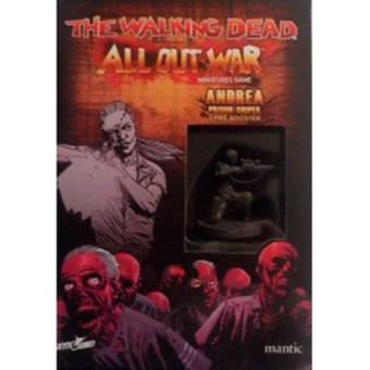 The Walking Dead: All Out War. Booster de Andrea