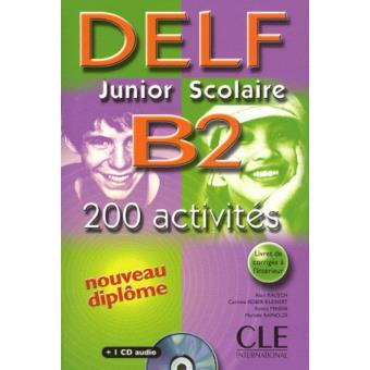 Delf Junior Scolaire B2 Textbook + Key + Audio CD