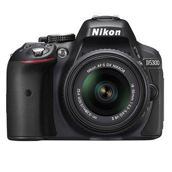 Cámara Réflex Nikon D5300 + 18-55 mm VR