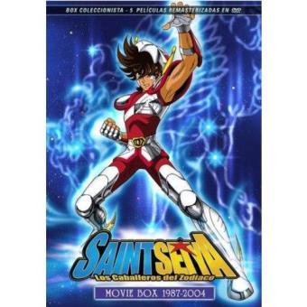 Pack Los caballeros del zodiaco: Box películas completas - DVD