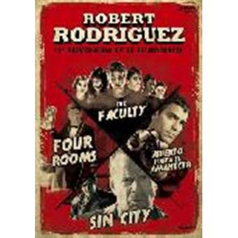 Pack Robert Rodriguez: Abierto Hasta El Amanecer, Sin City, Four Rooms, The Faculty - DVD