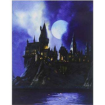 Tarjeta 3D Harry Potter - Castillo de Hogwarts