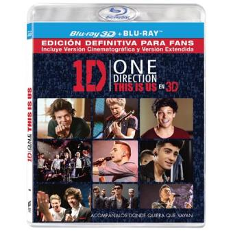 One Direction: This Is Us - Blu-Ray + 3D