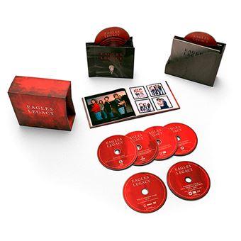 Box Legacy - 12 CD + DVD + Blu-Ray