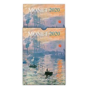 Calendario 2020 16.Calendario Draeger 2020 16 Meses Cuadricula Monet 5 En