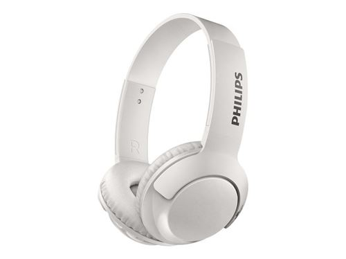 Auriculares Bluetooth Philips SHB3075WT Blanco