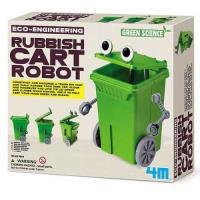 Crea y juega. Contenedor de basura robot