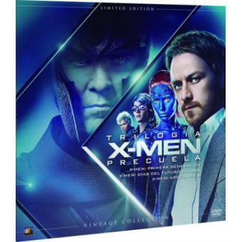Pack X-Men Trilogía Precuela - Ed Limitada Vinilo - DVD