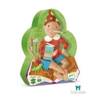 Puzzle silueta Pinocho