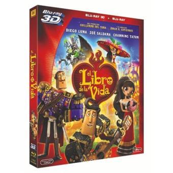 El libro de la vida - - Blu-Ray + 3D