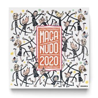 Calendario 2020 pared Macanudo