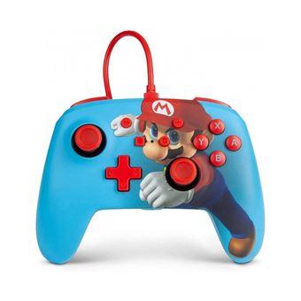 Mando Power A Super Mario Wired para Nintendo Switch