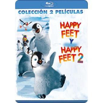 Pack Happy Feet 1 y 2 - Blu-Ray