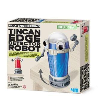 Crea y juega. Tin Can Edge Detector Robot