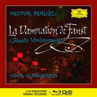 Berlioz - La Damnation de Faust - 2 CD + Blu-Ray