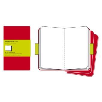 Cuaderno Moleskine de viaje Cahier L Liso Rojo Arándano