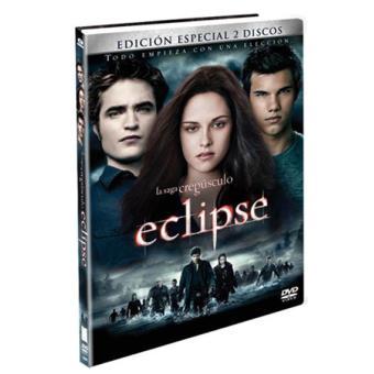 Crepúsculo: Eclipse (Ed. especial 2 discos) + Libro - DVD