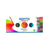 Set 50 lápices + 1 sacapuntas Giotto Stilnovo