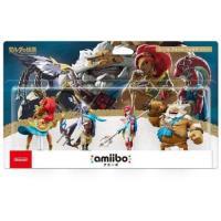 Amiibo Nintendo Set  Zelda 4 figuras: Urbosa, Revali, Mipha, Daruk