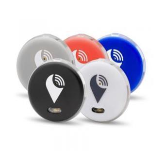 Pack de 5 localizadores TrackR Pixel Blanco, gris, negro, azul y rojo