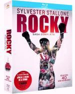 Pack Rocky: Saga Completa - Blu-Ray