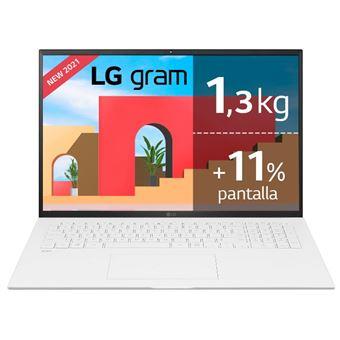 "Portátil LG Gram 17Z90P-G.AA79B Intel i7 1165G7/12GB/1 TB SSD/17"""