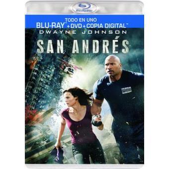 San Andrés - Blu-Ray + DVD