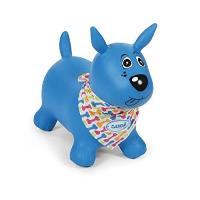 Mi perrito saltarín azul (58 x 27 x 48 cm, azul)