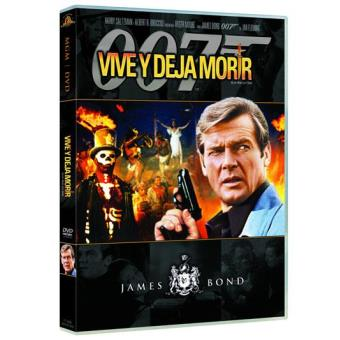 007: Vive y deja morir  - DVD