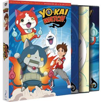Yo-Kai Watch - Temporada 2 Parte 4 Episodios 65 a 76 - DVD