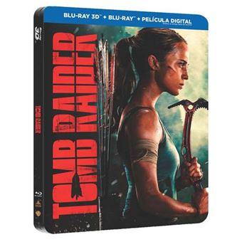 Tomb Raider - Steelbook Blu-Ray + 3D