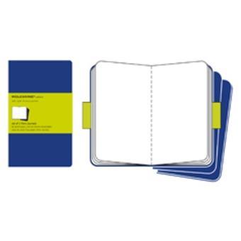 Cuaderno Moleskine de viaje Cahier L Liso Azul Indigo