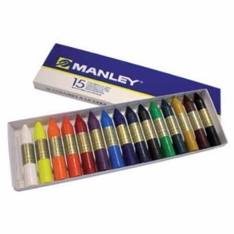 Manley Caja Cera 15 colores