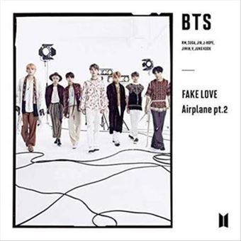 Fake love / Airplane pt.2 Limited Edition C - CD + Libro