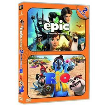 Pack Epic + Río - DVD