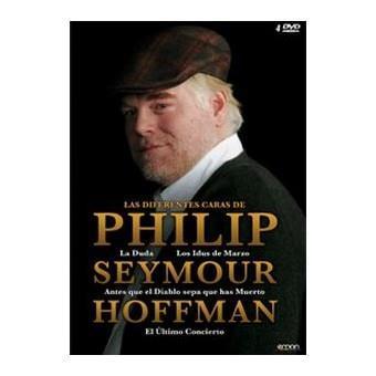 Pack Philip Seymour Hoffman - Blu-Ray Los idus de marzo + Antes que el diablo sepa que has muerto + La duda + El último concierto