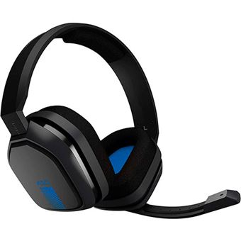 Headset gaming Astro A10 Gris/Azul PS4