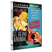 Colección Cine Studio Pre-Code: El reino animal + Alcohol prohibido V.O.S. - DVD