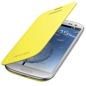 Samsung Funda FlipCover amarilla para Galaxy S3 mini