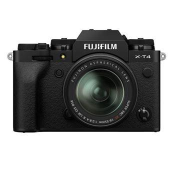 Cámara EVIL Fujifilm X-T4 + XF 18-55 mm Negro Kit