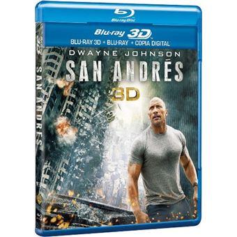 San Andrés - Blu-Ray + 3D